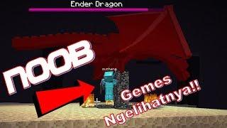 "Video ""Bisakah Seorang Noob Mengalahkan Ender Dragon?!"" Noob Survival Minecraft Indonesia #95 MP3, 3GP, MP4, WEBM, AVI, FLV Maret 2018"