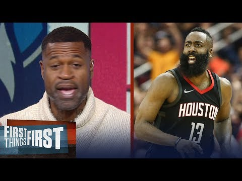 Stephen Jackson on James Harden's 44-PT game in Houston's win over T-Wolves | FIRST THINGS FIRST