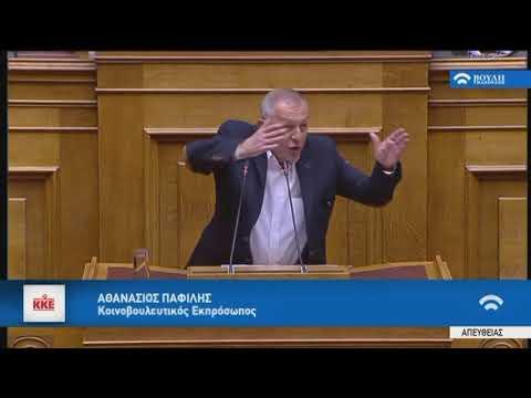 Α.Παφίλης (Κοινοβουλευτικός Εκπρόσωπος ΚΚΕ)(Ψήφος εμπιστοσύνης στην Κυβέρνηση)(09/05/2019)
