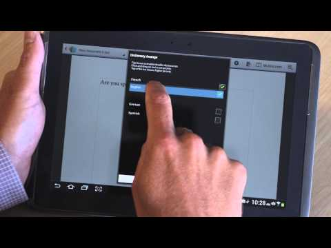 Video of iKnowU Tablet Keyboard
