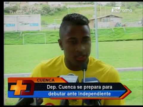 Deportivo Cuenca se prepara para debutar ante Independiente