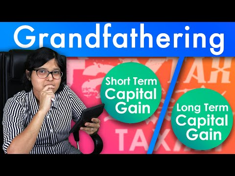 What Is Grandfathering Concept In Long Term Capital Gains Tax Explained By CA Rachana