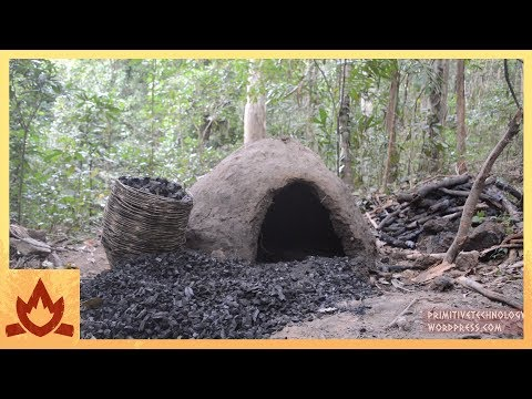 Primitive Technology Reusable Charcoal Mound