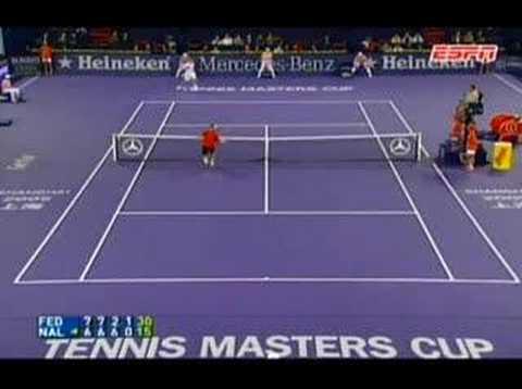 Nalbandian contra Federer