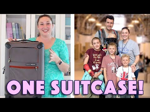 One Suitcase, Four Kids! Backpacking Across Europe