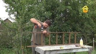 Изготовление простой чердачной лестницы.
