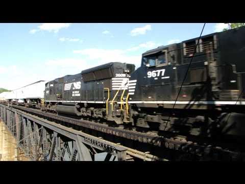 Norfolk Southern Over The Potomac River