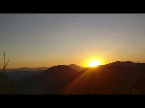 (Sunrise & Sunset Clear Mountain | Time Lapse | free footage - Duration: 41 seconds.)