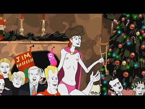 """""""Pale Christmas - Pale Force""""  - Jim Gaffigan Animated Series 