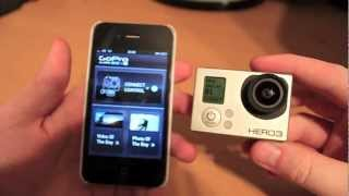 Video GoPro Hero 3 Wifi connectivity with an iPhone - Setup demo MP3, 3GP, MP4, WEBM, AVI, FLV November 2018
