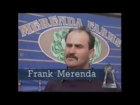 1995 Ethnic Business Awards Finalist – Non Manufacturing Category – Giuseppe Merenda – Merenda Farms