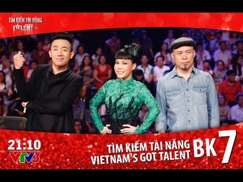 Vietnam's Got Talent 2016 - BÁN KẾT 7 - FULL HD