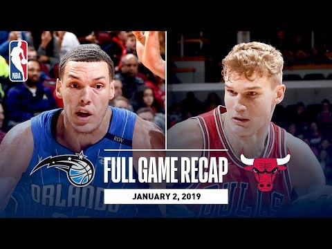 Video: Full Game Recap: Magic vs Bulls | Vucevic Double-Double Leads ORL