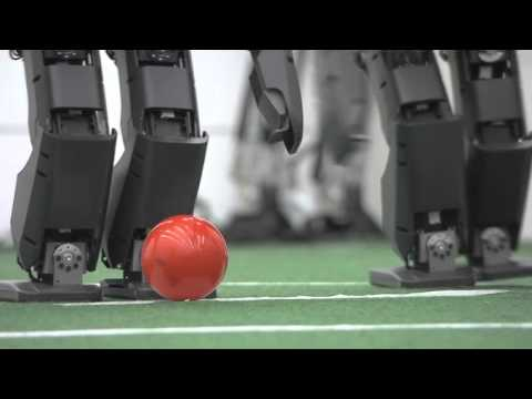 Virginia Tech: Robot Soccer Practice