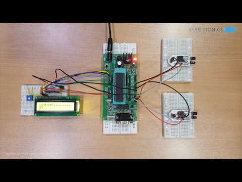 Bidirectional Visitor Counter Using 8051