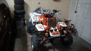 1. Engine Misfire Repair - 2005 Yamaha Banshee Part 1