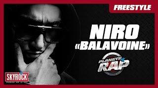 "Niro ""Balavoine"" en live #PlanèteRap"