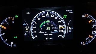 8. Jeep Grand Cherokee Acceleration 0-100 / 0-200 / Top Speed Test