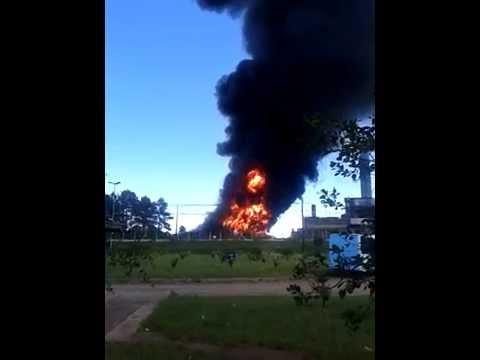 Incêndio na usina de Candiota destruiu torre de resfriamento