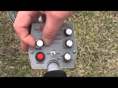Tesoro Vaquero Metal Detector Ground Balancing, How to Ground Balance