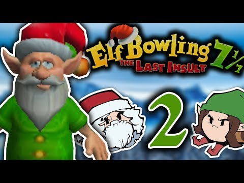 Elf Bowling 7 The Last Insult: Elvin Curve - PART 2 - Jingle Grumps