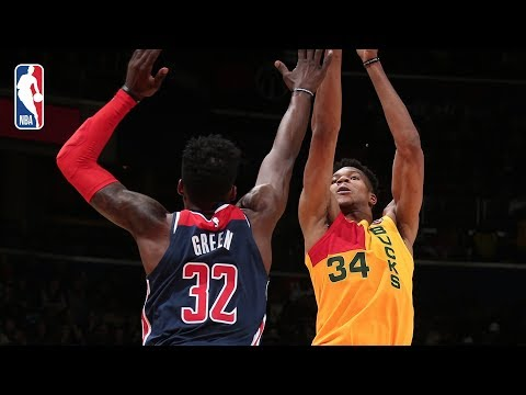 Video: Full Game Recap: Bucks vs Wizards | Giannis Antetokounmpo Goes For 37 Points & 10 Rebounds