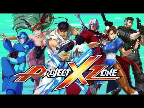 Project X Zone - Capcom Character Spotlight