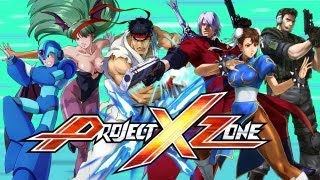 Project X Zone - Capcom Character Spotlight