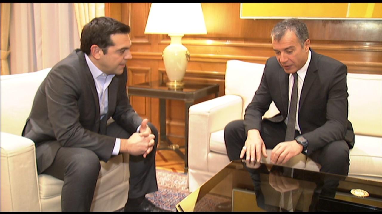 Συνάντηση με τον επικεφαλής του «Ποταμιού» κ. Σταύρο Θεοδωράκη