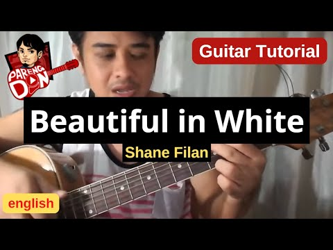 Beautiful in White chords (Westlife Shane Filan) guitar tutorial for beginners