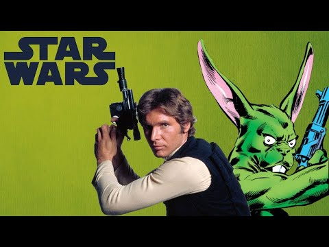 Han Solo's Partner Was Once a Giant Green Rabbit