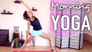 Video Morning Yoga For Beginners - A Quick Energizing & Revitalizing Yoga Flow MP3, 3GP, MP4, WEBM, AVI, FLV Maret 2018