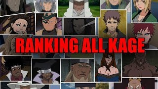 Video Ranking All Kage from Weakest to Strongest MP3, 3GP, MP4, WEBM, AVI, FLV Juni 2019