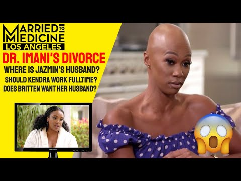Married to Medicine LA | Season 2, Episodes 7,8,9, | Dr. Imani's Divorce