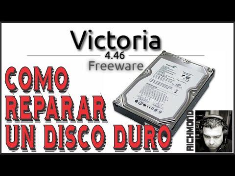 Cómo Reparar Disco Duro Dañado | Victoria 4.46 Freeware