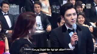 Video Ji Chang Wook And Park Min Young at 2014 KBS Drama Awards   ArabicSub MP3, 3GP, MP4, WEBM, AVI, FLV Januari 2018
