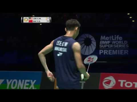 Yonex All England Open 2017 | Badminton F M2-MS | Lee Chong Wei vs Shi Yuqi