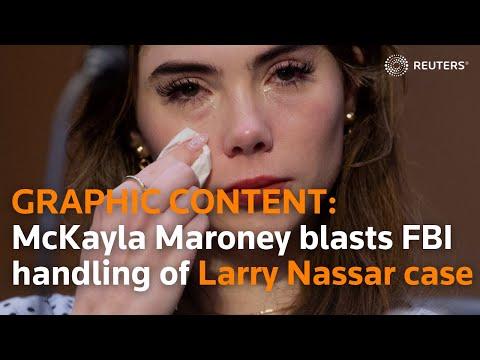 McKayla Maroney blasts FBI over handling of Nassar case