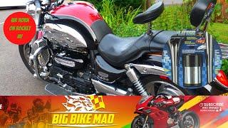 9. Motorcycle Airhorn Install on Triumph Rocket III