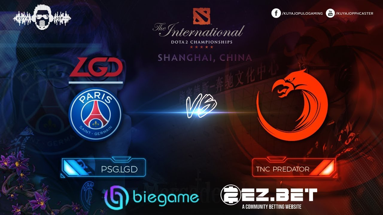 TNC Predator vs PSG.LGD | Best of 2 | Group Stage | The International 9 - YouTube