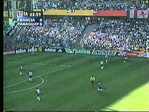 Francia Vs. Paraguay - Mundial 1998 Ultimos minutos