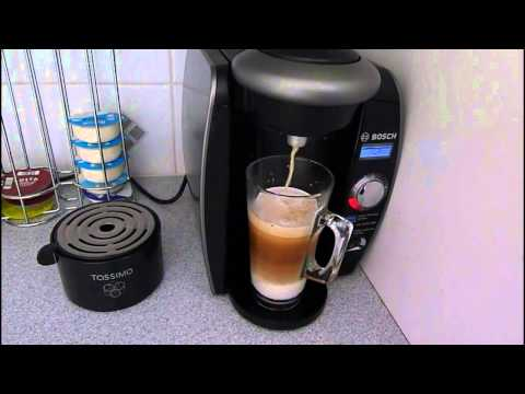 Bosch Tassimo coffee machine and how to halve the price of latte coffee .