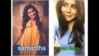 Video Ashu reddy look same as samantha ruth prabhu | junior samantha MP3, 3GP, MP4, WEBM, AVI, FLV April 2019