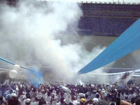 Entrada Alianza F.C. 3 vs 2 Fas. 05/08/2012 - La Ultra Blanca y Barra Brava 96 - Alianza