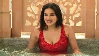 Sunny Leone takes bath in a bikini – Hot Video
