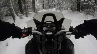 5. 2019 Ski Doo Backcountry 850 ETEC First rides