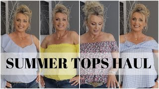 "ASOS haul- summer tops try on and two of my favorite strapless bras. I am 5'5"" and around 147lbs, I buy tops in UK size 12 (US 8) ..."