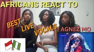 Video Agnez Mo : BEST! Live Vocals Compilation reaction video by AGA MP3, 3GP, MP4, WEBM, AVI, FLV April 2019