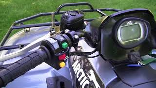 6. 2012 Arctic Cat 550 GT EFI EPS 4X4  Inspection Video