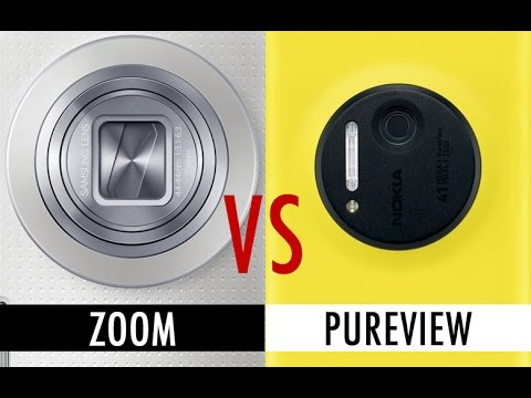 samsung - We're comparing the Samsung Galaxy K Zoom's camera capabilities with the Nokia Lumia 1020, and its 41MP shooter. It's optical zoom versus Pureview, and this is how they compare. For sample...